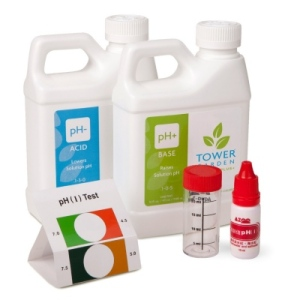 pH up and pH down kit for Tower Garden