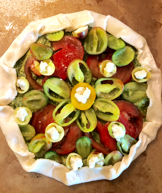 Tomato Gallette Recipe